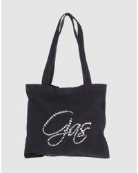 Gas - Blue Medium Fabric Bag - Lyst