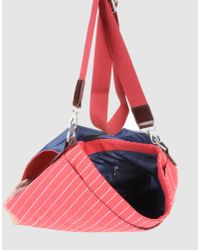 Gas - Red Large Fabric Bag - Lyst