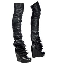 Rick Owens - Black Boots - Lyst