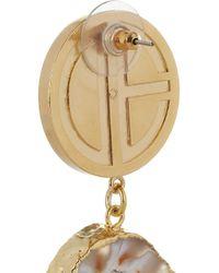 Dara Ettinger - Multicolor Ada Goldplated Agate Geode Earrings - Lyst