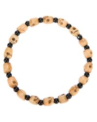 Chan Luu - Black Onyx and Skull Bead Necklace for Men - Lyst