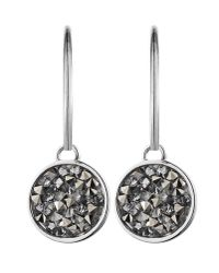 Dyrberg/Kern | Metallic Janessa Shiny Silver Grey Earrings | Lyst