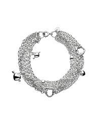 Links of London | Metallic Love Note Multi Row Bracelet | Lyst