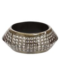 Nicholas King | Metallic Gun Ufo Bangle | Lyst