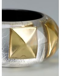 Nicholas King - Metallic Stud Bangle - Lyst