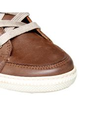 Paul Green - Brown Penelope Hitop Wedge Trainer Shoes - Lyst
