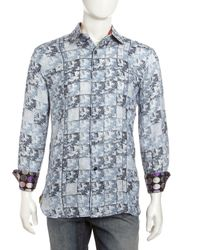 Robert Graham | Multicolor Navel Paisley Sport Shirt for Men | Lyst