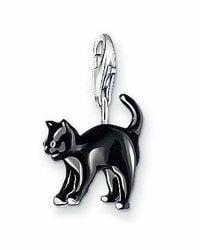 Thomas Sabo - Charm Club Black Cat - Lyst