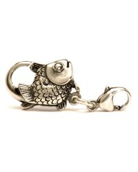 Trollbeads | Metallic Silver Big Fish Lock | Lyst