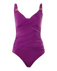 Biba | Purple Goddess Swimsuit | Lyst