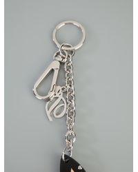 DSquared² - Metallic Bulldog Key Ring - Lyst