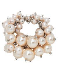Jaeger | Natural Pearl Cluster Bracelet | Lyst