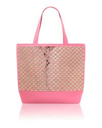 Ted Baker | Pink Mirror Tote Bag | Lyst