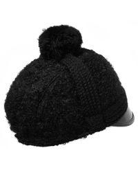 Bernstock Speirs - Black Mohair Rome Hat - Lyst