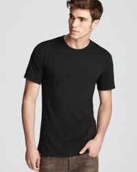Calvin Klein | Black Stretch Crewneck Undershirt, Pack Of 2 for Men | Lyst