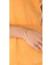 Gorjana - Metallic Arrow Cuff Bracelet - Lyst