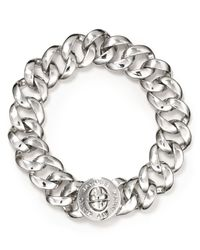Marc By Marc Jacobs | Metallic Small Katie Turnlock Bracelet | Lyst