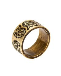Obey | Metallic The Dynasty Ring for Men | Lyst