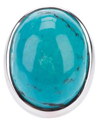 Ebba Brahe | Blue Cabochon Cut Turquoise Ring | Lyst
