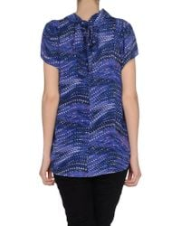 See By Chloé - Blue Blouse - Lyst