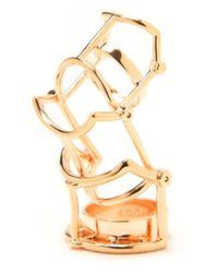 Eddie Borgo | Pink Hinged Ratchet Ring | Lyst