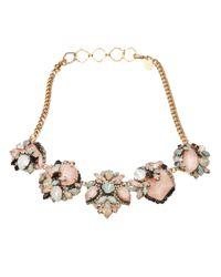 Erickson Beamon | Pink Girls On Film Necklace | Lyst
