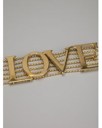 Dolce & Gabbana - Metallic Love Choker - Lyst