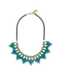 J.Crew - Green Lulu Frost For Jcrew Seascape Necklace - Lyst