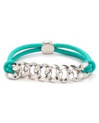 Marc By Marc Jacobs - Blue Sporty Turnlock Bracelet - Lyst