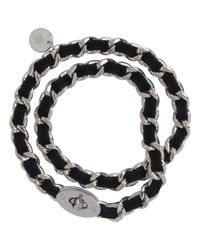 Mulberry | Black Bayswater Chain Bracelet | Lyst