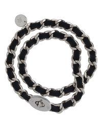 Mulberry - Black Bayswater Chain Bracelet - Lyst