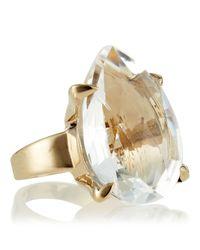Stephen Dweck - Metallic Pearcut Rock Crystal Ring - Lyst