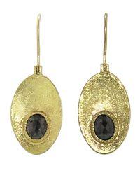 Todd Reed | Metallic Oval Dish Earring | Lyst