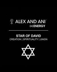 ALEX AND ANI - Metallic Star Of David Bangle - Lyst