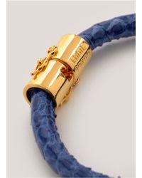 Eddie Borgo | Blue Scaled Bracelet | Lyst