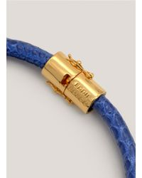 Eddie Borgo | Blue Scaled Choker | Lyst