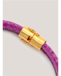 Eddie Borgo - Purple Scaled Choker - Lyst