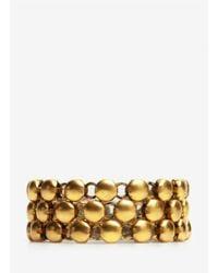 Ela Stone | Metallic Bree Beaded Wrap Bracelet | Lyst