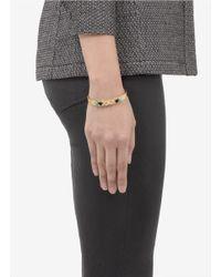 Ela Stone - Metallic Yuma Multi-stone Cuff Bracelet - Lyst