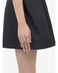 Ela Stone | Blue Louise Adjustable Ring | Lyst