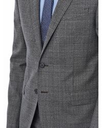 Paul Smith - Gray Textured Window Pane Suit for Men - Lyst