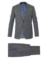 Paul Smith - Gray Textured Window Pane Suit for Men - Lyst