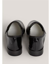 Repetto - Black Michael Patent-leather Slip-ons - Lyst