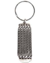 Werkstatt:münchen | Metallic Chain Link Key Ring | Lyst