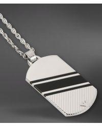 Emporio Armani - Metallic Necklace for Men - Lyst
