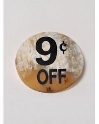 J.W.Anderson - White 9 Cents Badge By J.w.anderson - Lyst