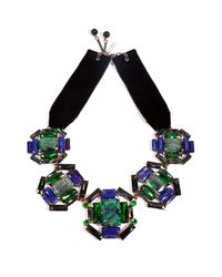 Moutoncollet | Green Illusion Necklace in Emerald | Lyst