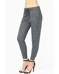 Nasty Gal - Gray Comfort Zone Sweat Pants - Lyst