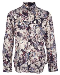 Paul Smith | Multicolor Floral Print Shirt for Men | Lyst