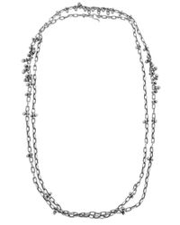 Ten Thousand Things | Metallic Bead Cluster Chain Necklace | Lyst